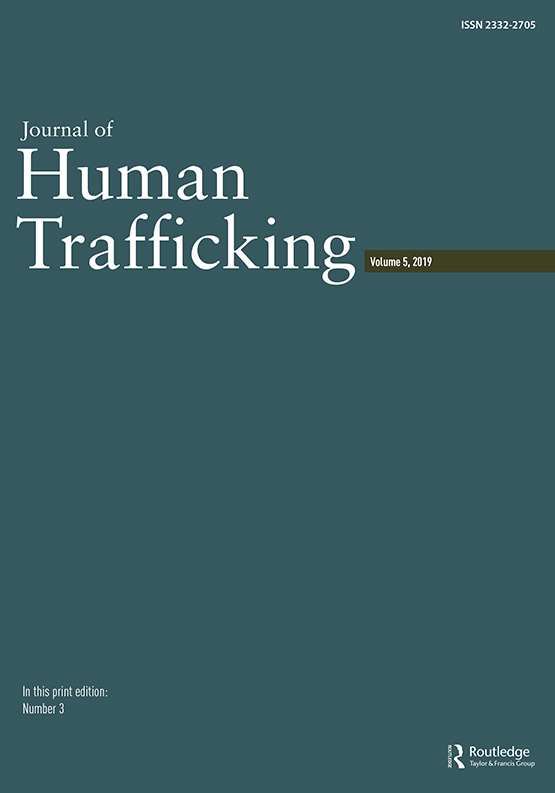Journal of Human Trafficking cover image
